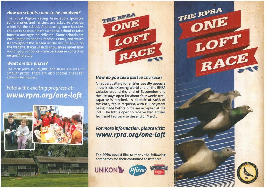 One Loft Leaflet front copy2